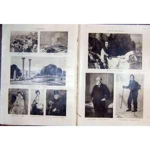 Portrait Pictures Art Society French Print 1931 Menard Home & Kitchen