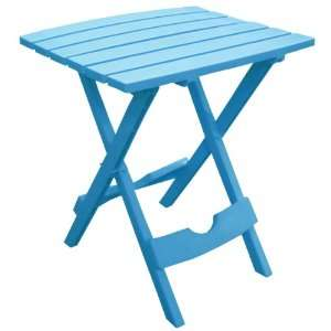 8500 21 3700 Quick Fold Side Table, Pool Blue Patio, Lawn & Garden
