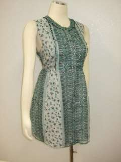 worn once, Anna Sui For Anthropologie Floral Sheath Dress Sz 12
