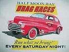Bay Ca Drag Strip Automobile car racing shirt California Race track