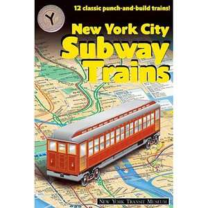 New York City Subway Trains 12 Classic Punch And Build