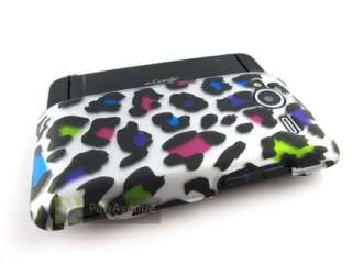 BIZARRE LEOPARD Hard Case Cover HTC EVO Shift 4G Phone