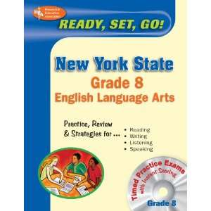 New York State Grade 8 English Language Arts w/CD ROM (New York State
