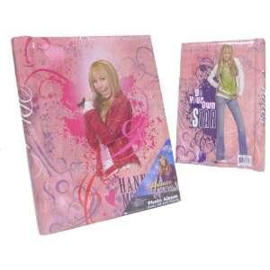Hannah Montana Pop Star Photo Album Pink Arts, Crafts