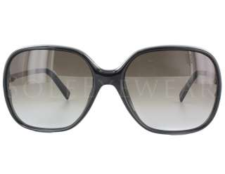 NEW Fendi FS 5208 003 Black Gold tone / Brown Gradient Sunglasses