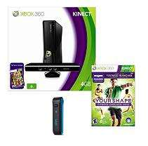 Xbox 360 4GB Kinect Console with Fit Bit and Your Shape: Fitness