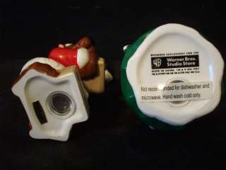 HANNA BARBERA SCOOBY DOO XMAS SALT & PEPPER MIB #A3793