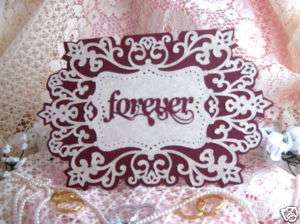 Handmade Greeting Card   Wedding Card Forever