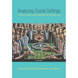 Observation and Analysis, Lofland, John Political & Social Sciences