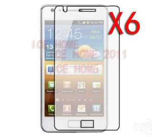 Ultra Thin Screen Protector For Samsung i9100 Galaxy S2 S 2 II