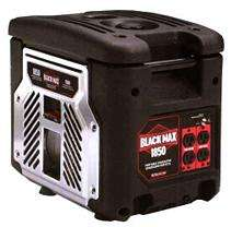 Black Max 1500 Watt Portable Generator
