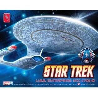Star Trek USS Enterprise Starship Set 3 Kits 1/2500 AMT  AMT/MPC Toys