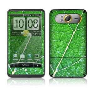 HTC HD7 Skin Decal Sticker   Green Leaf Texture