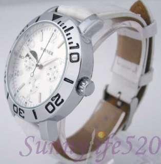 Dials Silver Auto Mechanical Men Women Wrist Watch US