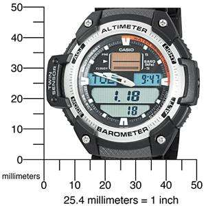 Altimeter measures in 20ft (5 m) increments
