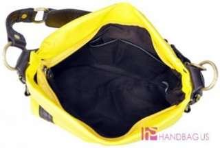 Designer Inspired Small Yellow Handbag Purse Hobo Bag