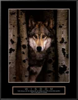 Wisdom Gray Wolf Prints at AllPosters
