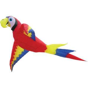 Premier 18 Foot Wing Span Mega Macaw Inflatable Parafoil Kite.