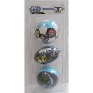 Star Wars ~ Softee 3 Ball Set Toys & Games