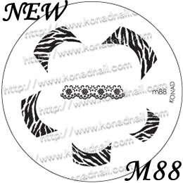 IMAGE PLATE   Konad Stamping Nail Art Design Nail NEW USA