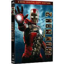 Iron Man 2 2 Disc DVD   Paramount
