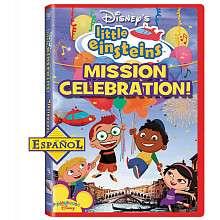 Little Einsteins Mission Celebration (Spanish) DVD   Walt Disney
