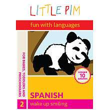 Little Pim Fun with Languages Wake Up Smiling   Spanish Disc 2 DVD