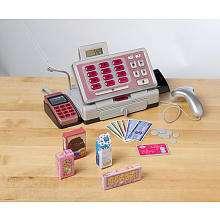 Pink supermarket cash register with checkout scanner - Just like home kitchen sink toys r us ...