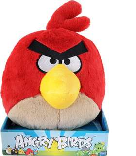 Angry Birds 8 inch Plush with Sound   Red   Commonwealth Toys   Toys