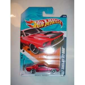 2011 MUSCLE MANIA 1/10 RED 67 Ford Mustang Fastback SHELBY GT 500 101