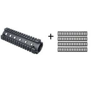 UAG AR15 AR 15 AR 15 M4 CARBINE RIFLE QUAD 4 WEAVER / PICATINNY RAIL