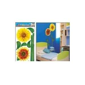 Large Sunflowers Wall Stickers Decals