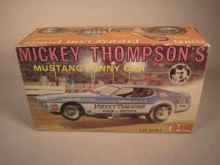 Vintage 71 Jo Han Mickey Thompson Boss 429 Nitro Ford Mustang Funny