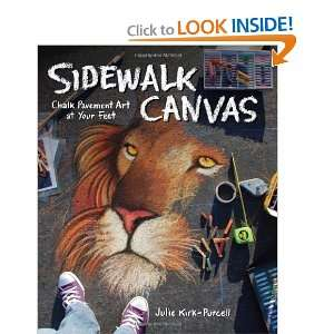Sidewalk Canvas: Chalk Pavement Art at Your Feet