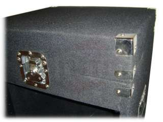 25 Space Rack Mount Amp Mixer Cabinet Road Case Stand