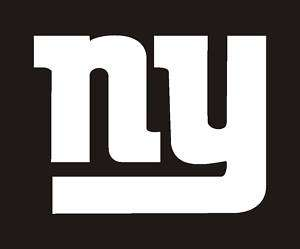New York Giants NFL Sticker, Decal 3 #10f
