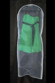 Clear Bridal Wedding Gown/Dress Veil Garment Bag New