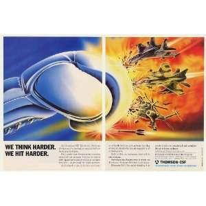 1989 Thomson CSF Air Defense Weapon Systems Ainak 2 Page