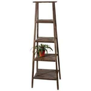Antique Style Ladder Garden Plant Stand Home & Kitchen