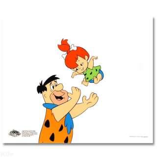 Tossing Pebbles! FLINTSTONES SERICEL Hanna Barbera LE