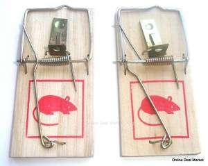Mouse Mice Snap Spring TRAP Rodent Control No Poison