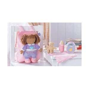 My Lile Baby Jada Playse African American Cloh Doll