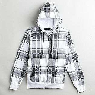 Young Mens Full Zip Fleece Hoodie  Hoodie Buddie Clothing Young Mens