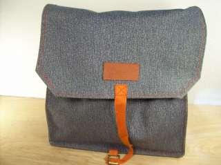Vintage WRANGLER Denim Backpack BookBag School Sack Bag