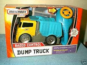 MATCHBOX ~  RADIO CONTROL R/C DUMP TRUCK    NEW