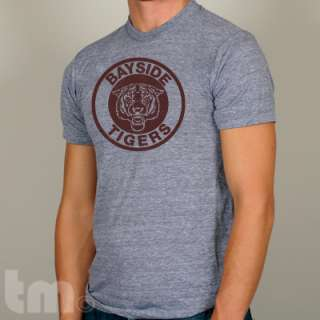BAYSIDE TIGERS   Vintage Saved By the Bell American Apparel TR401