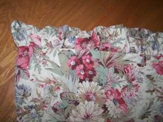 Ralph Lauren Coastal Garden Full Queen Ruffled Duvet Cover