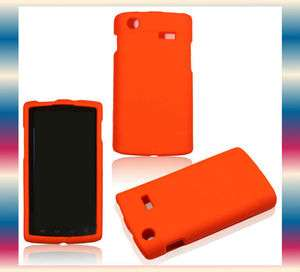 Orange Samsung Captivate Galaxy S SGH i897 Phone Cover Hard Shell Case