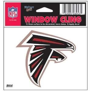 Atlanta Falcons 3X3 Static Window Cling Decal Sticker