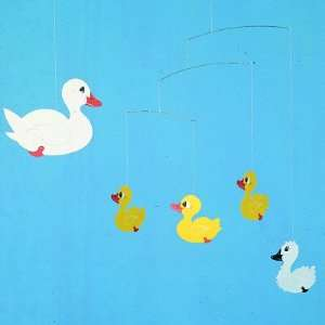 Flensted Mobiles Nursery Mobiles, Ugly Duckling Baby